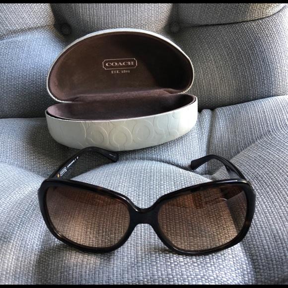 Coach Accessories - Coach Sunglasses and Case